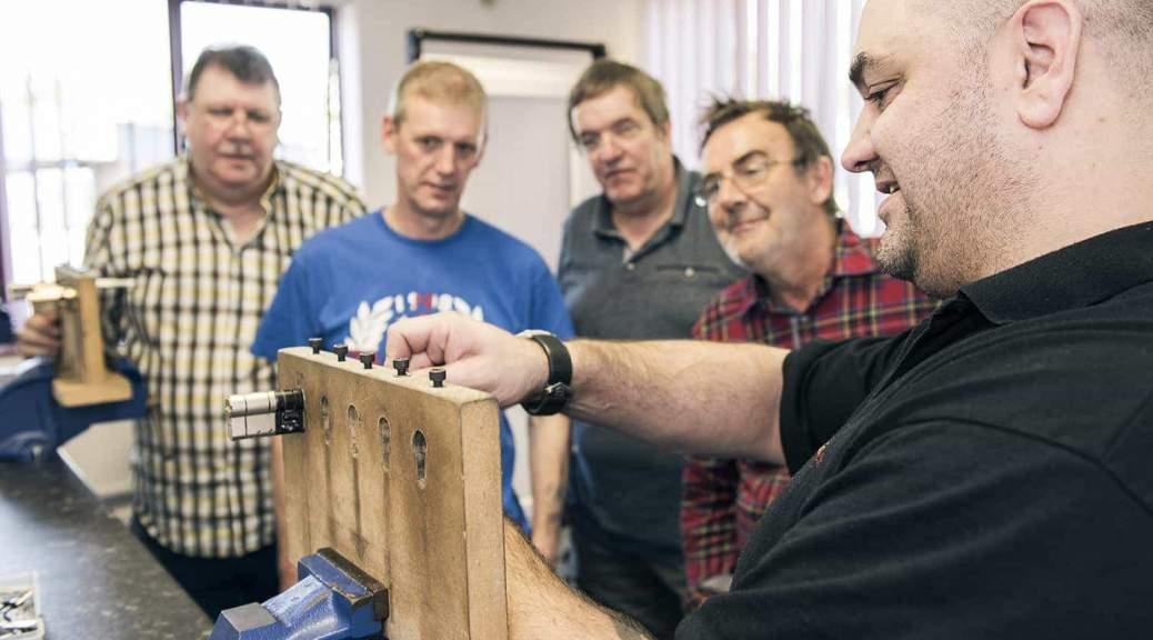 Locksmith Training Instructor Demonstration
