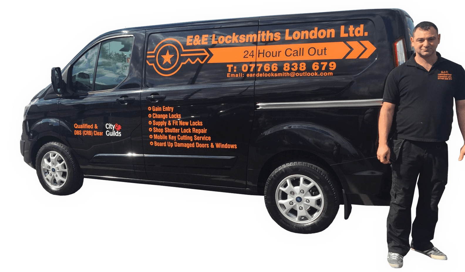Easy Pickings Locksmith Van ...