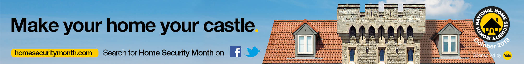 National Home Security Month - Make your home your castle